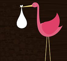 Stork by Aleksander1