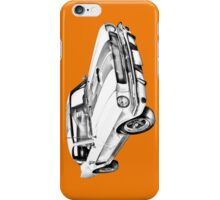 1965 GT350 Mustang Muscle Car Illustration iPhone Case/Skin