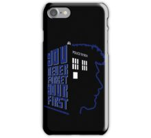 You Never Forget Your First - Doctor Who 8.5 John Hurt iPhone Case/Skin