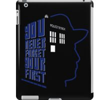 You Never Forget Your First - Doctor Who 7 Sylvester McCoy iPad Case/Skin