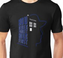 You Never Forget Your First - Doctor Who 7 Sylvester McCoy Unisex T-Shirt