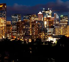 Downtown Calgary by Rae Tucker