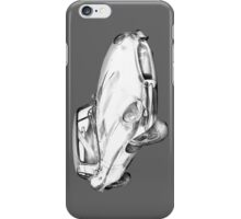 1964 Jaguar XKE Antique Sports Car Illustration iPhone Case/Skin