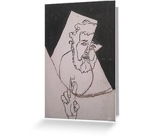 the broken image- time to start anew!  Greeting Card
