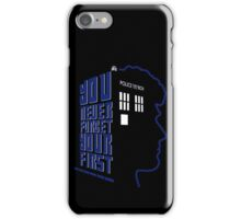 You Never Forget Your First - Doctor Who 6 Colin Baker iPhone Case/Skin