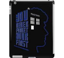 You Never Forget Your First - Doctor Who 6 Colin Baker iPad Case/Skin