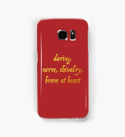 Brave at Heart Samsung Galaxy Case/Skin
