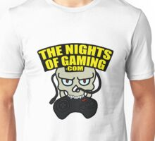 The Nights of Gaming skully Unisex T-Shirt