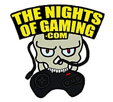 The Nights of Gaming skully Photographic Print