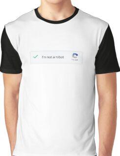 I'm not a robot - captcha shirt Graphic T-Shirt