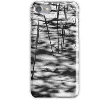 Beach Shadows BW iPhone Case/Skin