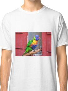 Rainbow Lory Classic T-Shirt