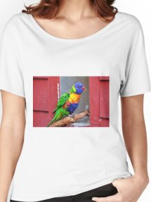 Rainbow Lory Women's Relaxed Fit T-Shirt