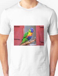 Rainbow Lory Unisex T-Shirt