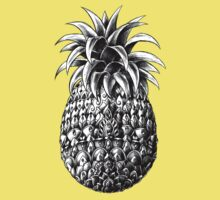 Ornate Pineapple Kids Clothes