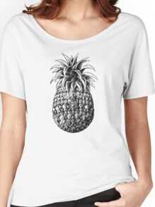 Ornate Pineapple Women's Relaxed Fit T-Shirt