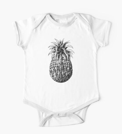 Ornate Pineapple One Piece - Short Sleeve