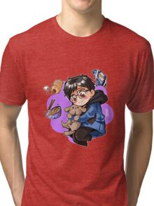 Yuuri Katsuki Tri-blend T-Shirt