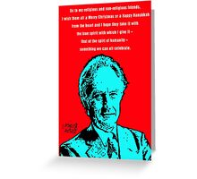 Richard Dawkins Atheist Christmas Greeting Card