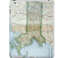 Vintage Map of Massachusetts (1905) iPad Case/Skin