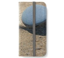 Fully Smooth and Blue iPhone Wallet/Case/Skin