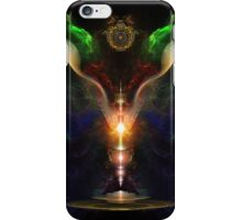 Wings On The Heart Of Light - Crakle Texture iPhone Case/Skin
