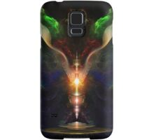 Wings On The Heart Of Light - Crakle Texture Samsung Galaxy Case/Skin