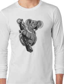 Ornate Koala Long Sleeve T-Shirt