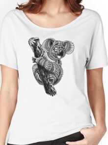 Ornate Koala Women's Relaxed Fit T-Shirt