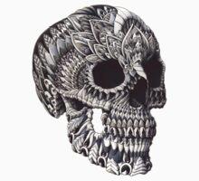 Ornate Skull Kids Clothes