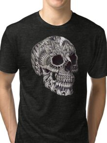 Ornate Skull Tri-blend T-Shirt