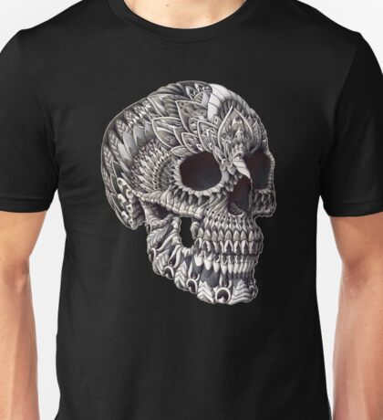 Ornate Skull Unisex T-Shirt