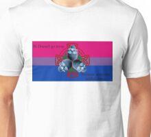 LeatherWing Coat of Arms Bi Pride Unisex T-Shirt