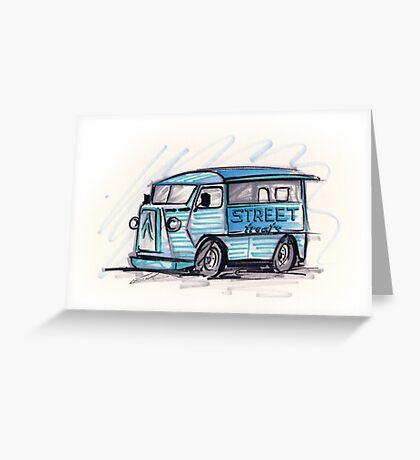 Food Truck 01 Greeting Card