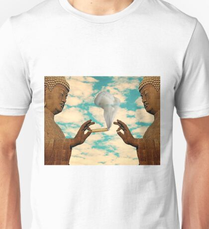 PUFF PUFF PASS BUDDHA Unisex T-Shirt