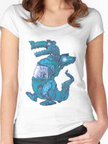 Mecha Dragon X Women's Fitted Scoop T-Shirt