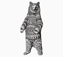 Ornate Grizzly Bear Kids Clothes