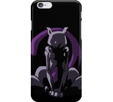Mewtwo - I want to be free - Pokemon iPhone Case/Skin