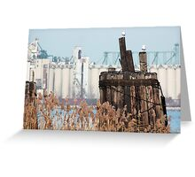 Industrial and Rustic Greeting Card