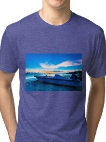 Sunset coast Tri-blend T-Shirt