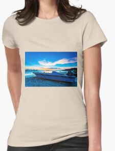 Sunset coast Womens Fitted T-Shirt