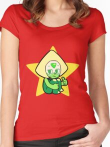 Steven Universe - Peridot Women's Fitted Scoop T-Shirt