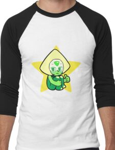 Steven Universe - Peridot Men's Baseball ¾ T-Shirt