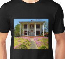 Pretty Pink Flowers Of The Old House Unisex T-Shirt