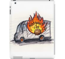 Meatballs of Fire iPad Case/Skin