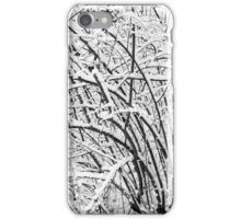 Snow Patterns 2 BW iPhone Case/Skin