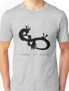 Master of Chaos - Black Unisex T-Shirt