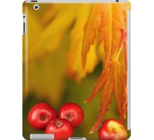 Forest autumn iPad Case/Skin