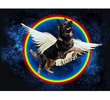 Majestic Space Doggo Dog Photographic Print