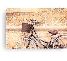 Oxford bike Canvas Print